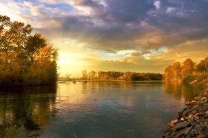 Autumn Landscape Nature Golden
