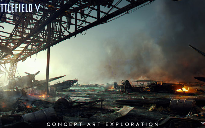 Battlefield 5 Concept Art 2 Desktop Background
