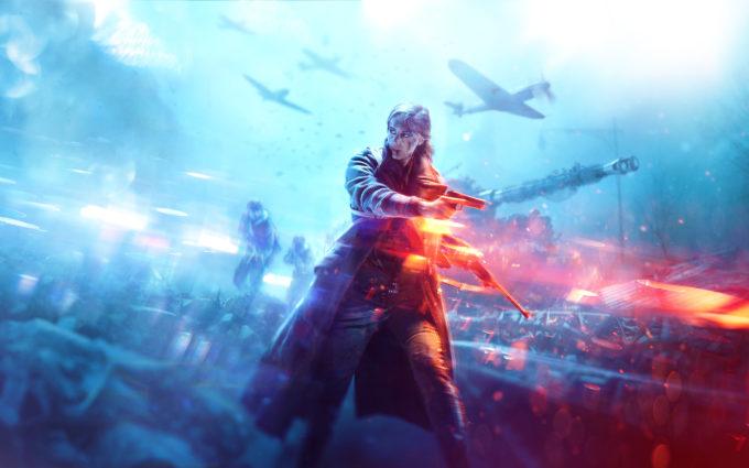 Battlefield 5 Women Desktop Background