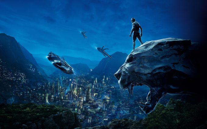 Black Panther 8K Desktop Background