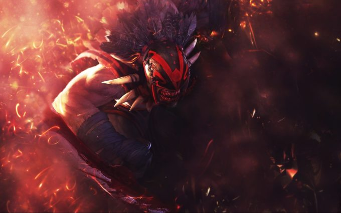 Bloodseeker DotA 2 Desktop Background