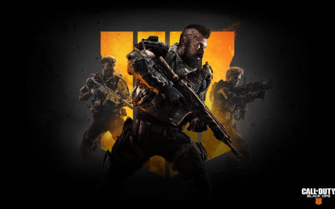 Call of Duty Black Ops 4 Team Desktop Background