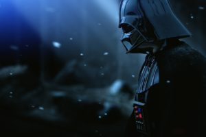 Darth Vader Armor Star Wars Film Hat Snow Desktop Background