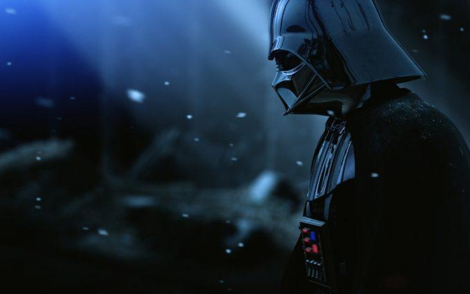 Darth Vader Armor Star Wars Film Hat Snow Desktop Background