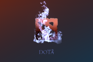 DotA 2 Fire Desktop Background