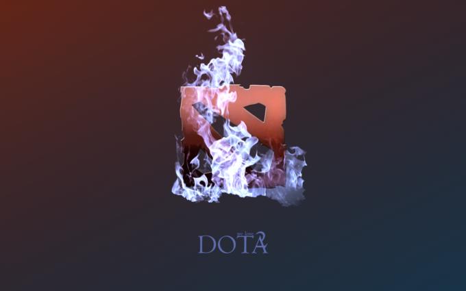 DotA 2 Fire Desktop Background