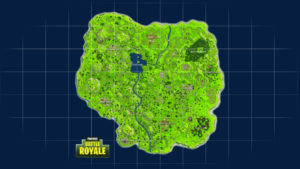 Fortnite Battle Royale Full Map Desktop Background