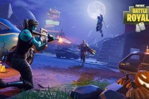 Fortnite Battle Royale Shooting Desktop Background