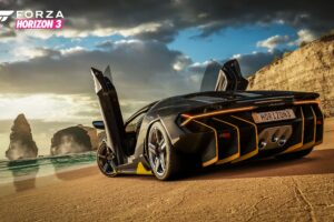 Forza Horizon 3 Lamborghini on Beach