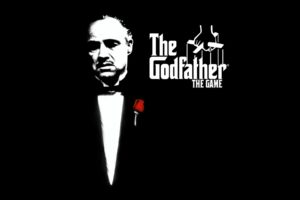 Godfather Marlon Brando Don Vito Corleone Black Rose Desktop Background