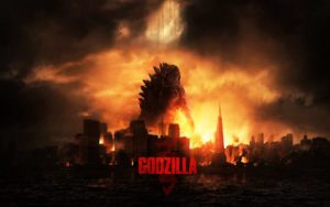 Godzilla Gareth Edwards 2014 Science Fiction Desktop Background