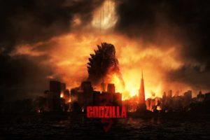 Godzilla Gareth Edwards 2014 Science Fiction Desktop Background