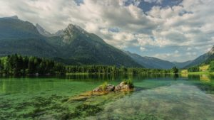 Hintersee Bergsee Mountains Ramsau Alpine