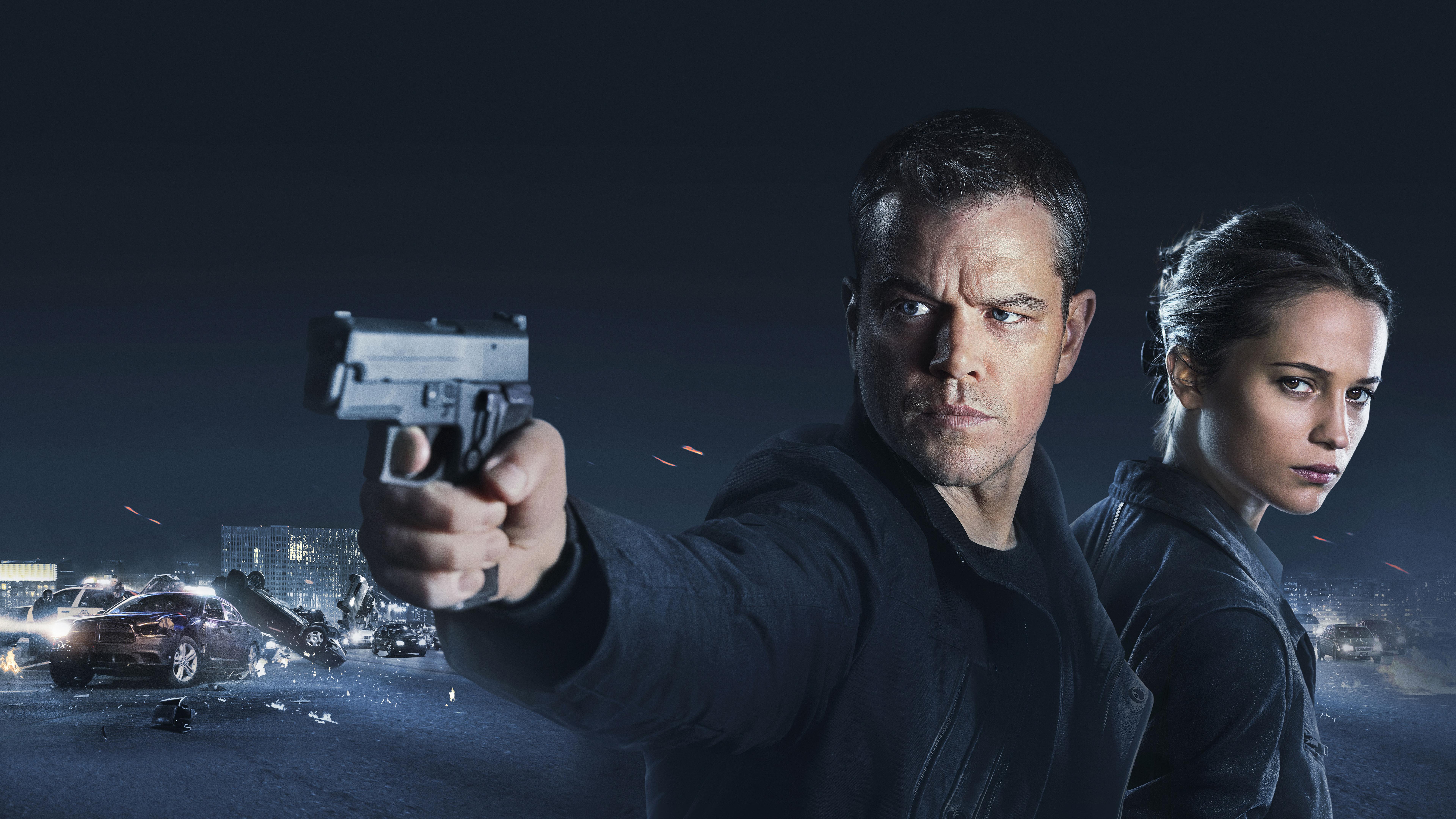 Jason Bourne 8K Desktop Background | Computer Background Images
