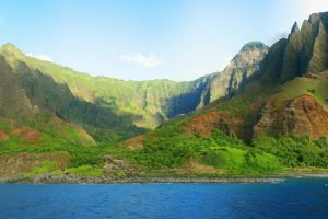 Kauai Hawaiian Islands Panorama