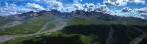 Landscape Scenic Nature Mountains Polychrome Panorama