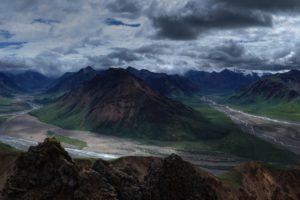 Mountains Wilderness Panorama