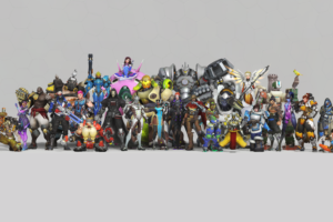 Overwatch Anniversary 8K Desktop Background