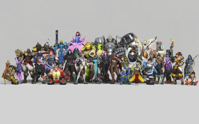 Overwatch Anniversary 8K Desktop Background