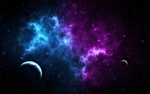 Planet Space Stars Desktop Background