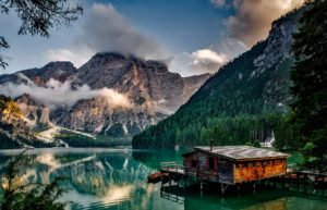 Pragser Wildsee Lake