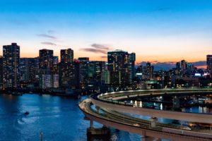 Rainbow Bridge Tokyo Panorama
