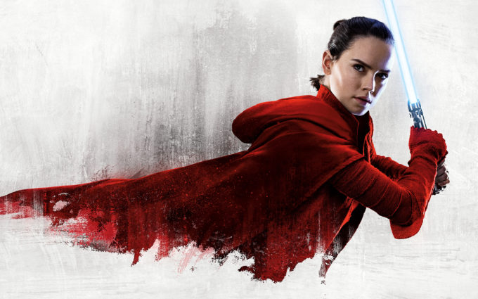 Rey Star Wars The Last Jedi 8K Desktop Background