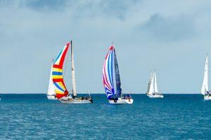 Sailboats Race Yachts Yacht Racing Panorama