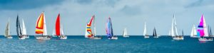Sailboats Race Yachts Yacht Racing Panorama
