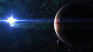 Space Planet Sky Desktop Background