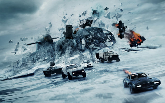 The Fate of The Furious 8K Desktop Background