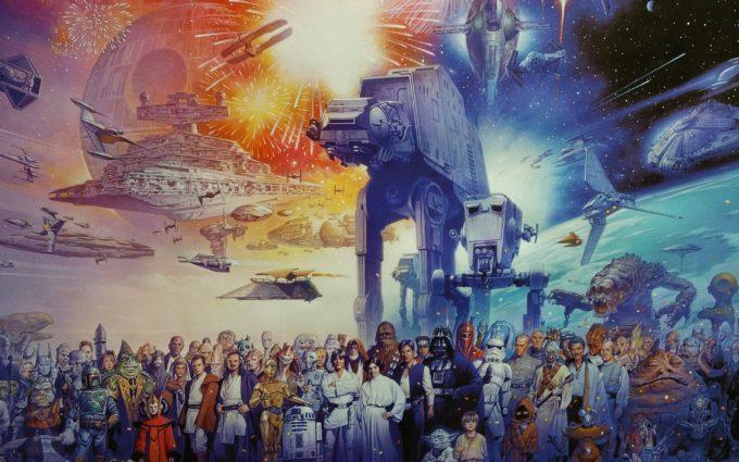 The Star Wars World Desktop Background