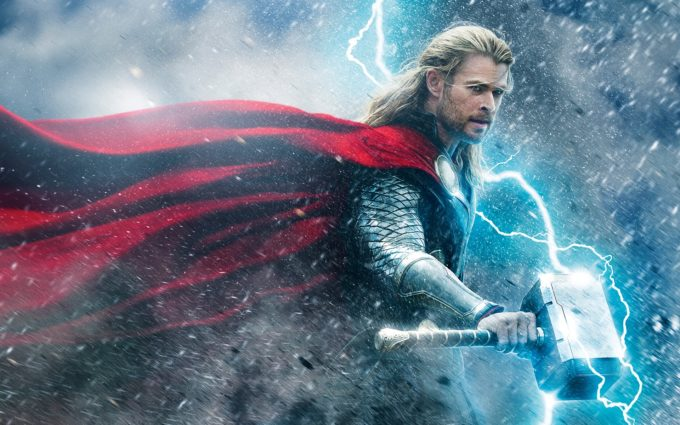 Thor The Dark World Chris Hemsworth Battle Desktop Background