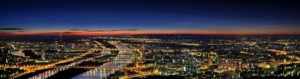 Vienna Night Panorama