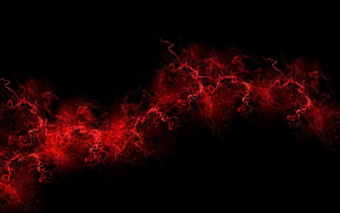 Black Background Red Color Paint Eplosion Burst Desktop Wallpapers