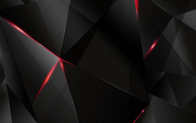 Black Light Dark Figures Desktop Wallpapers