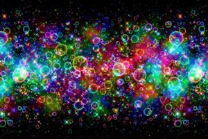 Bubbles Colorful Bright Desktop Wallpapers