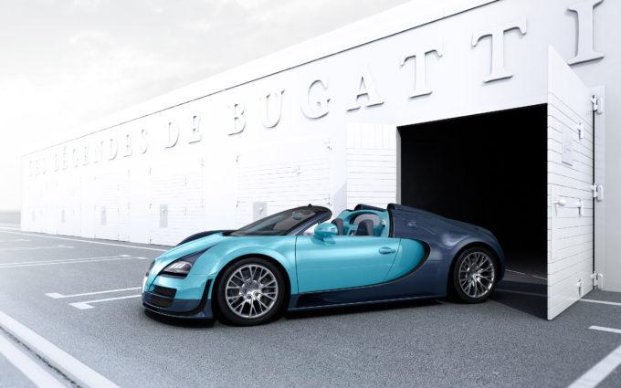Bugatti Veyron Desktop Background 1