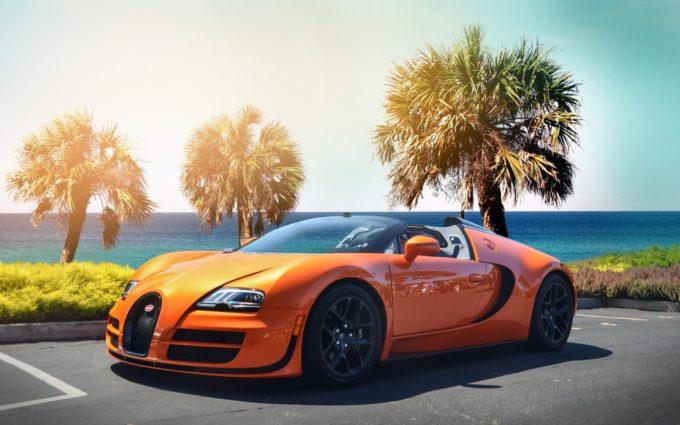 Bugatti Veyron Desktop Background 6