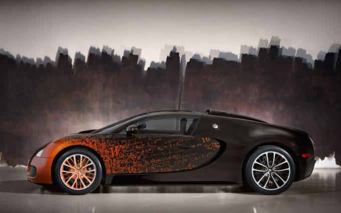 Bugatti Veyron Desktop Background 9