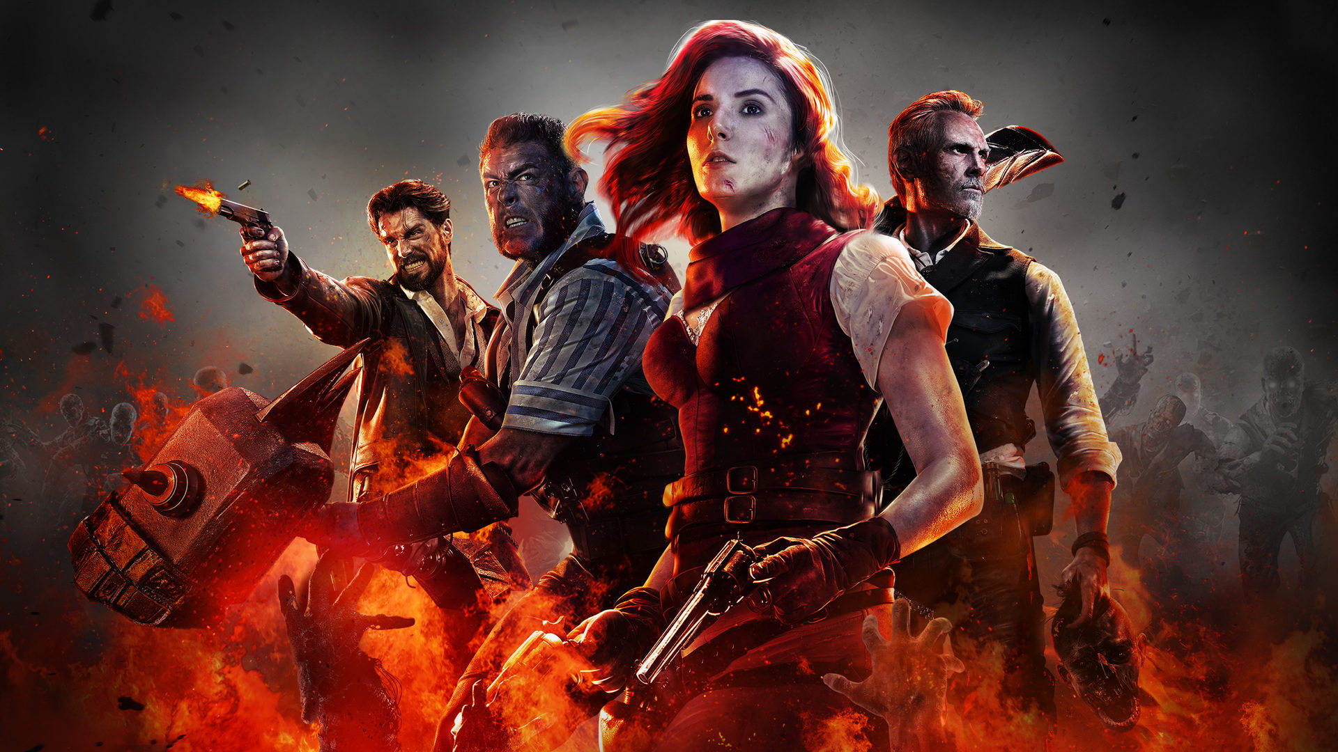 Call Of Duty Black Ops 4 Wallpapers: Call Of Duty Black Ops 4 Zombies Desktop Wallpaper