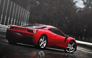 Ferrari Desktop Background 1