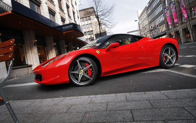 Ferrari Desktop Background 39