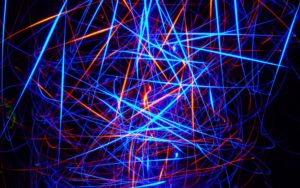 Glow Neon Light Strip Desktop Wallpapers