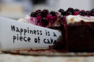 Happiness Is a Piece of Cake Close Up Photography Desktop Wallpapers