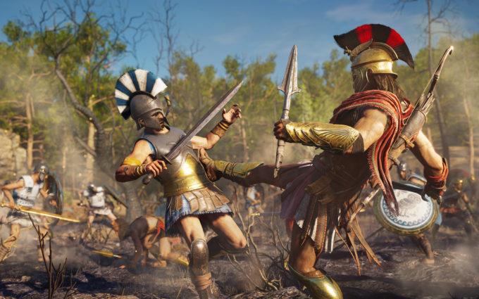 Assassin's Creed Odyssey Desktop Wallpapers 2