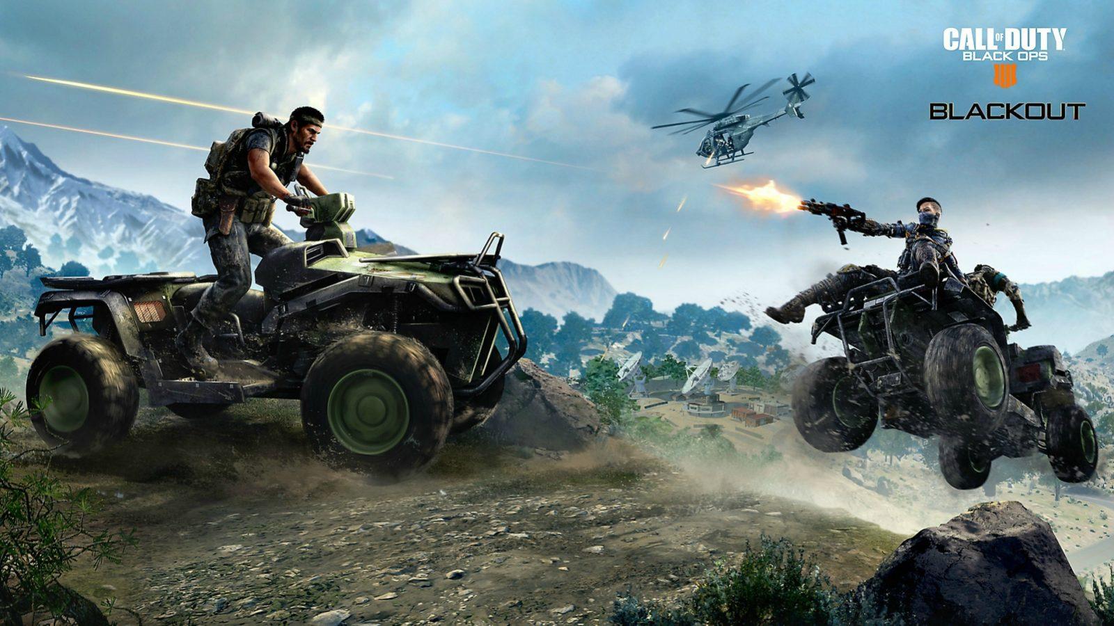 Call Of Duty Black Ops 4 Blackout Desktop Wallpapers Computer
