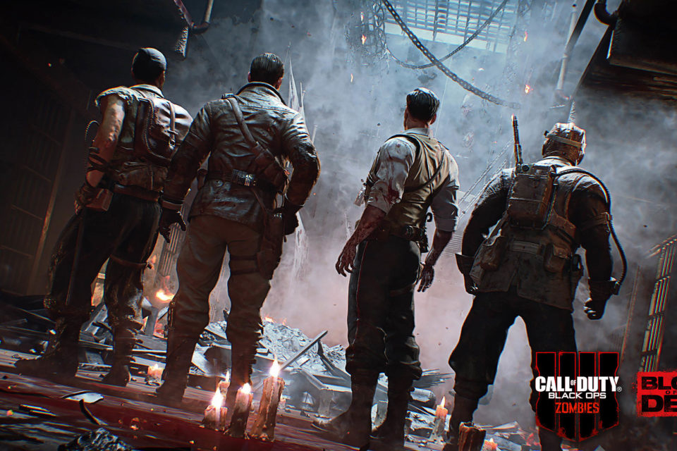 Call Of Duty Black Ops 4 Zombies Boold Of The Dead Desktop