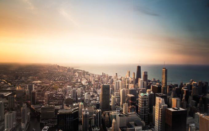 Chicago City Skyscrapers Desktop Wallpapers