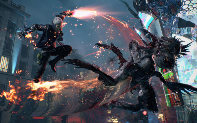 Devil May Cry 5 Desktop Wallpapers 2